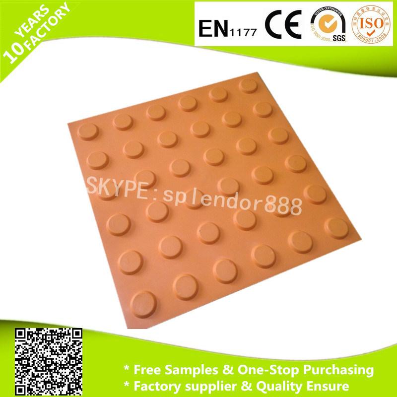 Blind Sidewalk Rubber Tactile Mat for The Blind Man