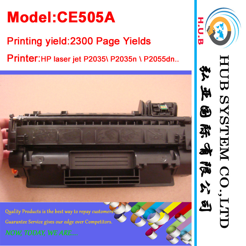 Genuine Compatible Toner for HP Ce505A/Ce505X for Printer 2055/2035