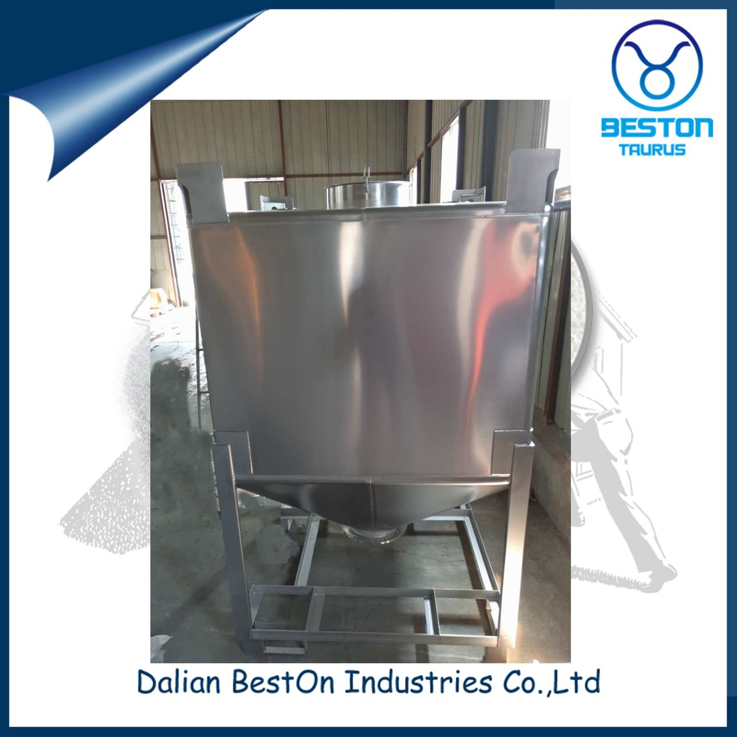 Stainless Steel Chemical/Oil IBC Tote Tank
