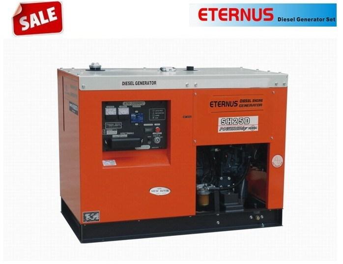 16kw/16kVA Silent Single Phase Diesel Generator (SH25D)
