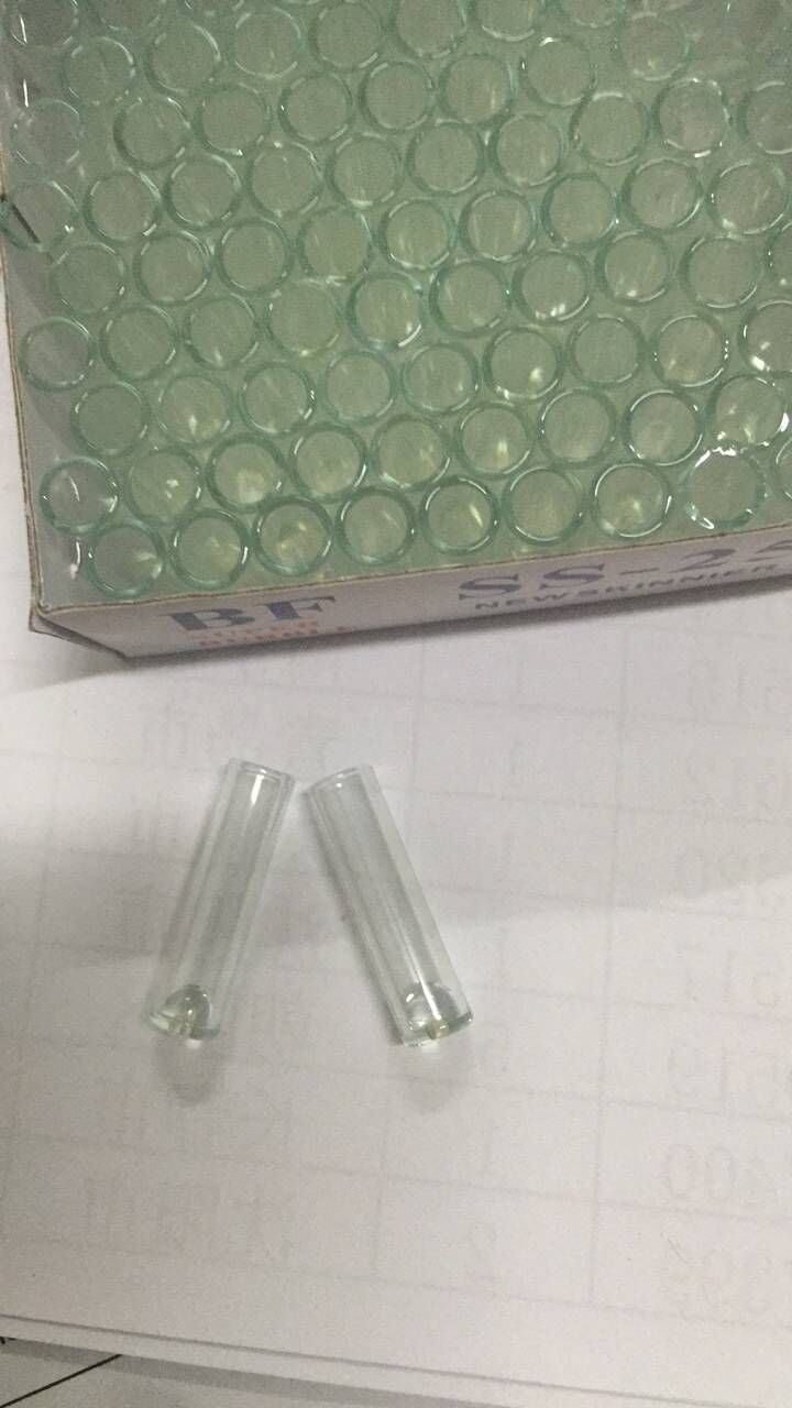 Clear Mini Glass Vial for Perfume Pack