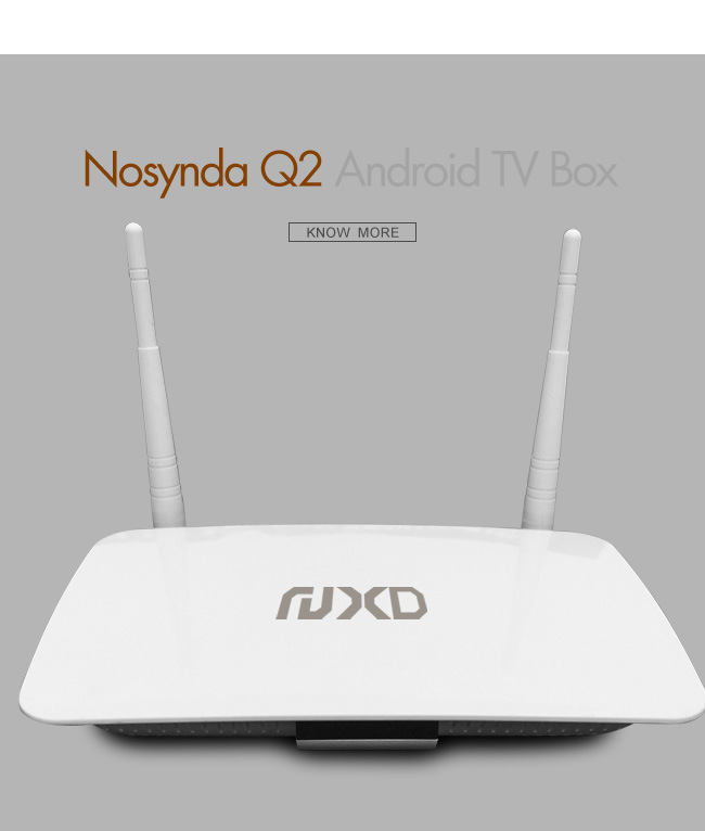 HD IPTV Set Top Box Q2 with WiFi&Bluetooth
