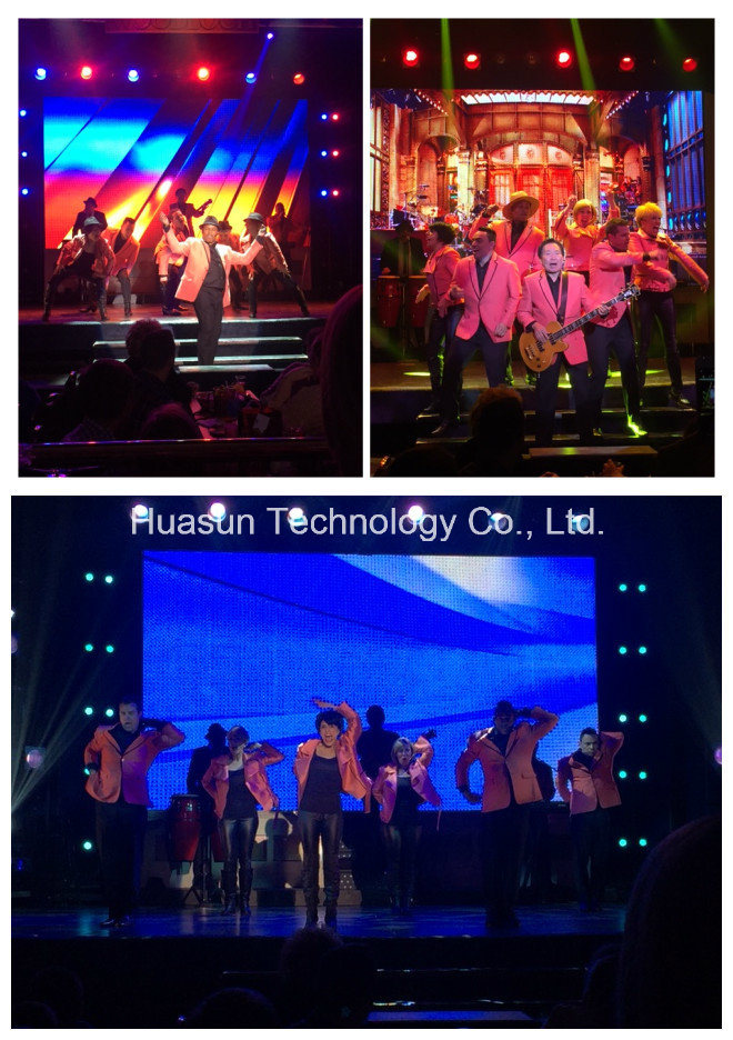 Outdoor Rental LED Curtain Flexible LED Screen