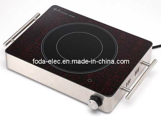Cookware 05t Metal Shell Table-Top Knob-Type Portable Infrared Hilight/Hi-Light Cooker/Not Induction Stove/Ceramic Cooker (MJ-05T without timer)