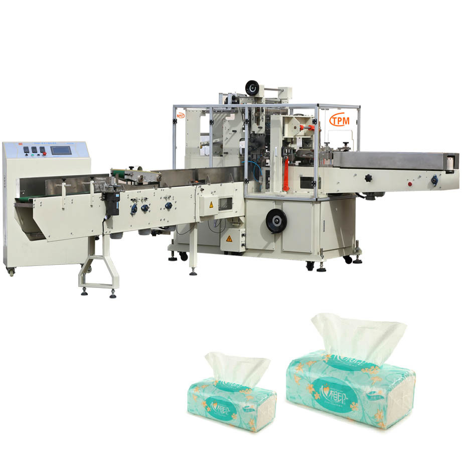 Non Woven Fabric Roll Tissue Paper Packing Machine