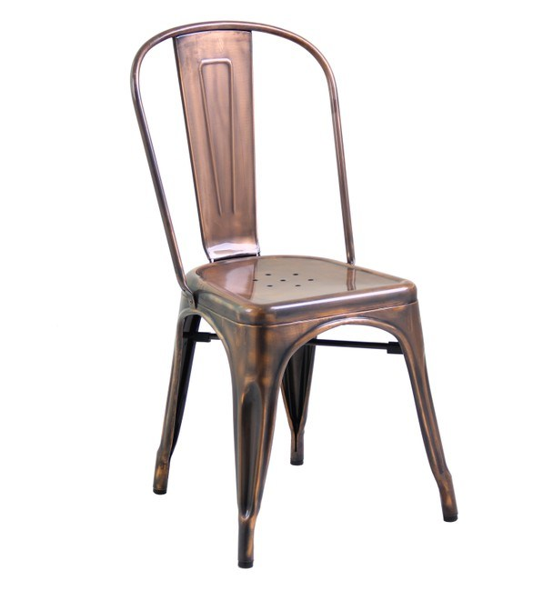 china tolix chair in copper 618 st photos pictures made in. Black Bedroom Furniture Sets. Home Design Ideas