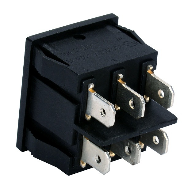 Rk2-02 on-off-on 6 Pins Rocker Switches T85 10A 250VAC