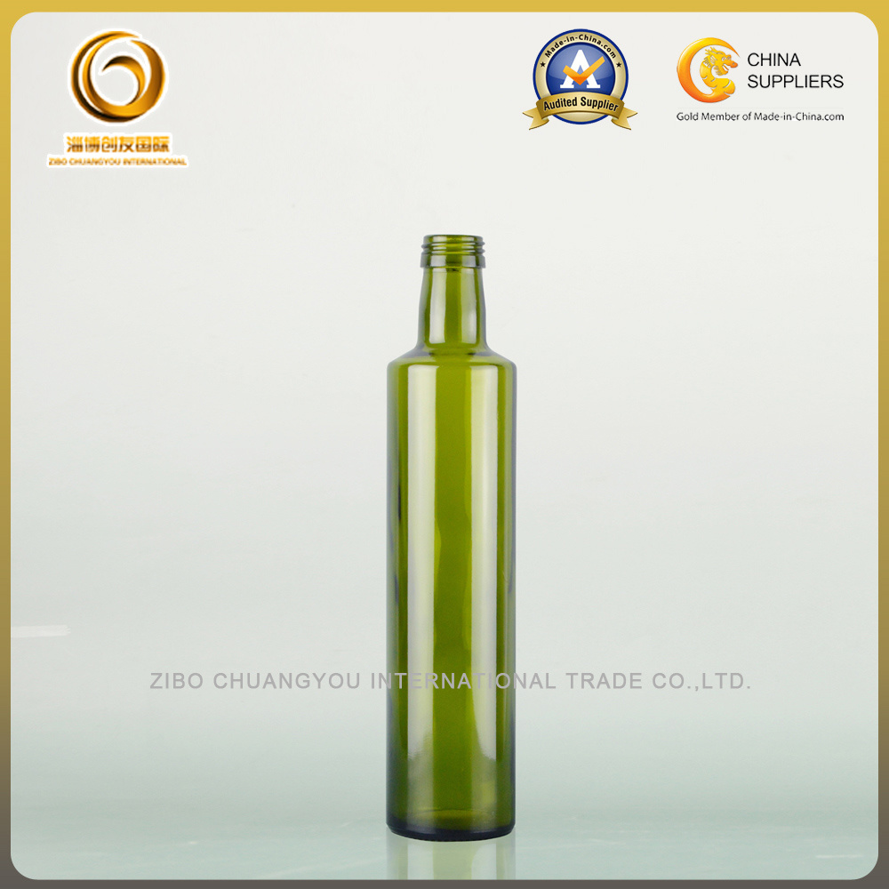 Empty Green 500ml Doria Oilve Oil Glass Bottles (022)