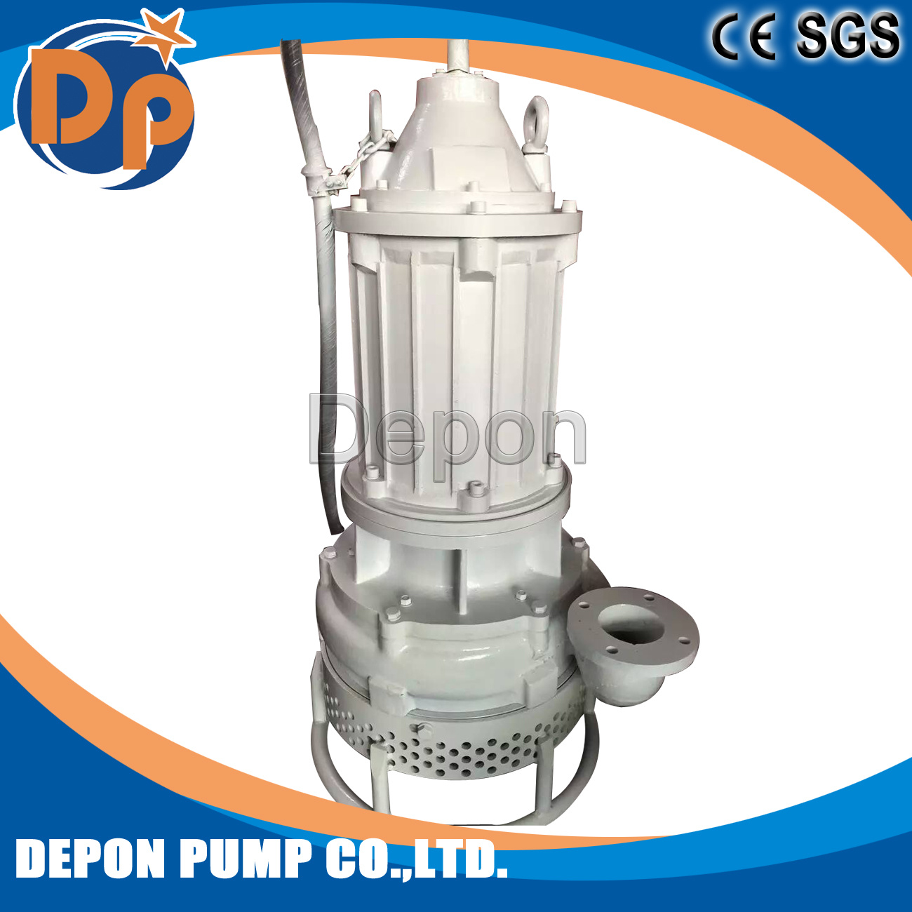 Submersible Sand Suction Pump Centrifgual Type