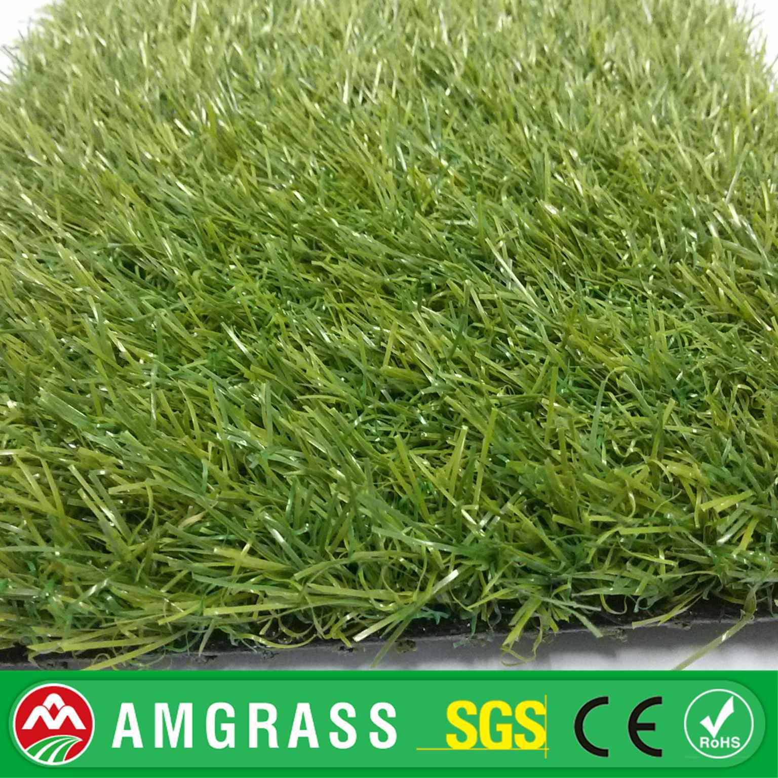CE/SGS 6 Year Life Span Apple Green Artificial Turf, Decorative Fake Grass