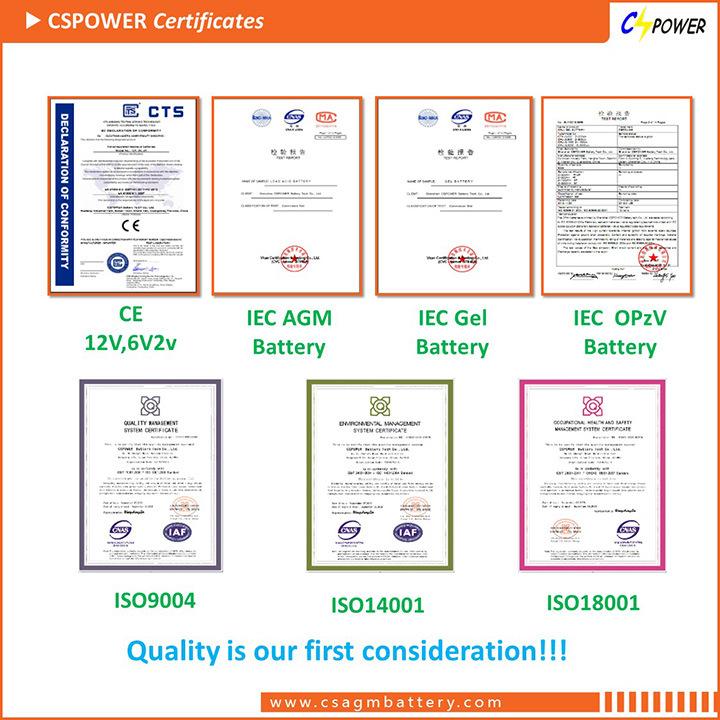 2V1200ah Gel Tubular Opzv Battery Longest Life 2V1200ah Opzv2-1200