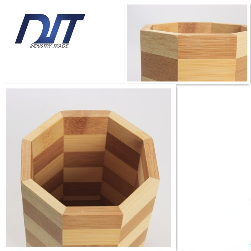 Square Bamboo Chopsticks Holder Beauty Home Decoration