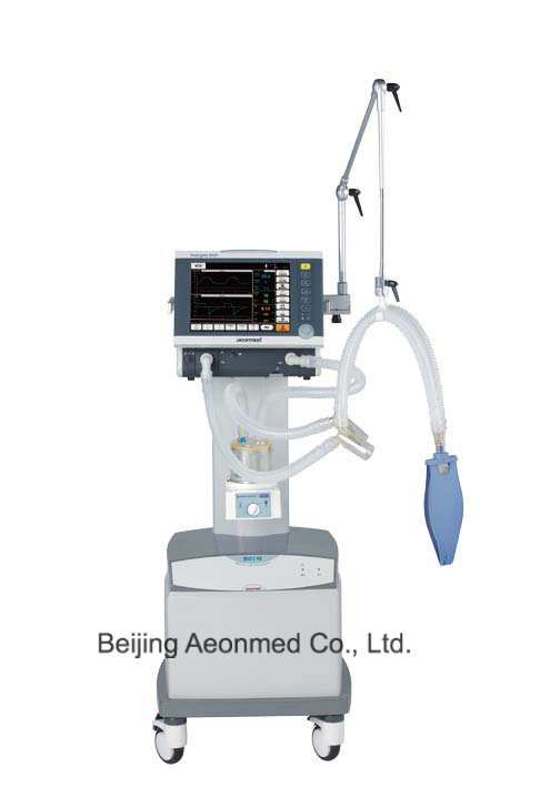 ICU Ventilator Shangrila590p Touch Screen with CE Certificate