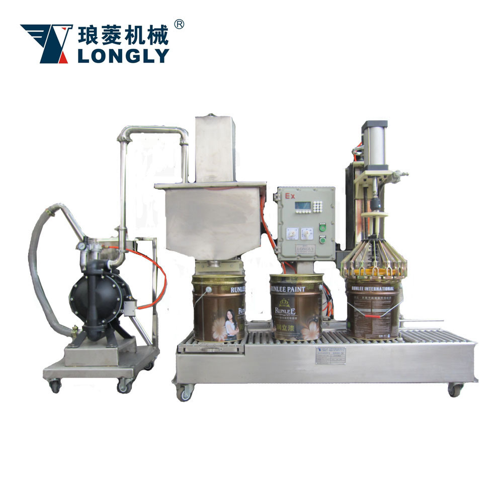 DCS-30UT Weighing Type Liquid Filling Machine