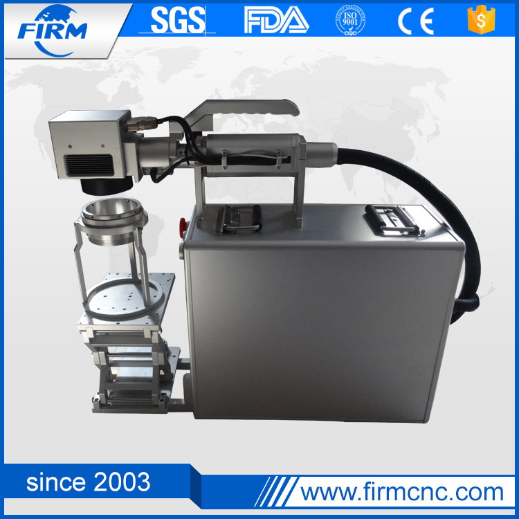 Fiber Laser Marking Machine for Plastic Rubber Aluminum
