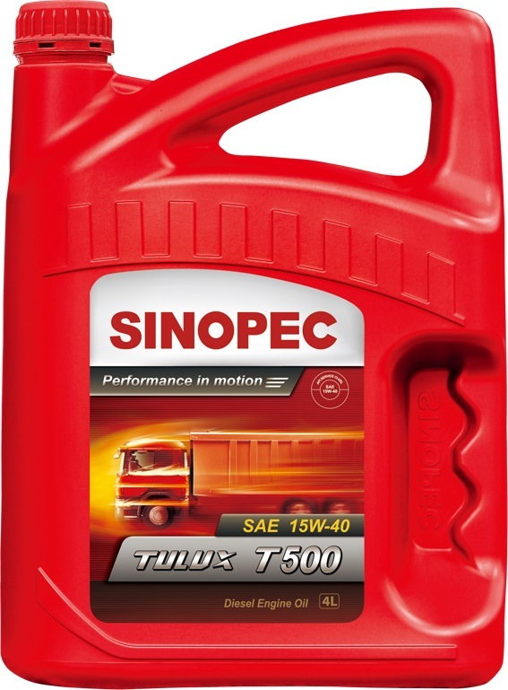 Sinopec Ci-4 Diesel Engine Oil