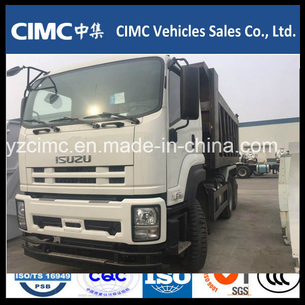 New Isuzu 10wheeler 400HP Heavy Dump Truck with 25 Ton