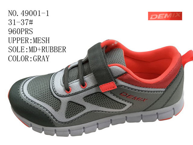 No. 49001 Two Color Children Size Sport Stock Shoes