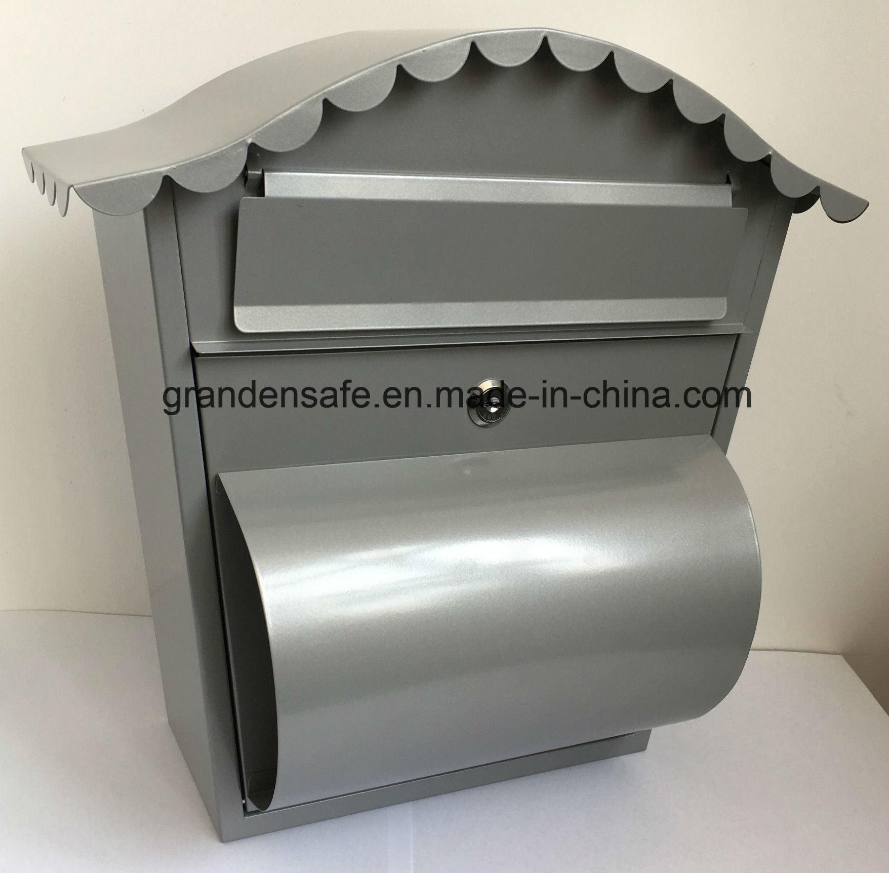 Steel Mailbox Modern Design