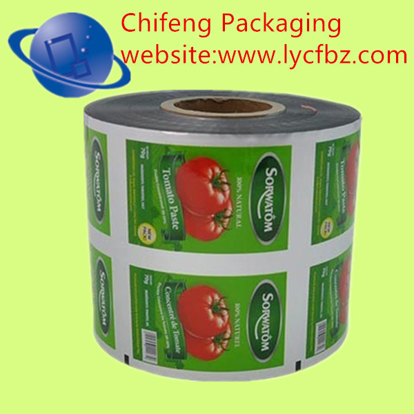 OPP/CPP Potato Chips Packaging Film
