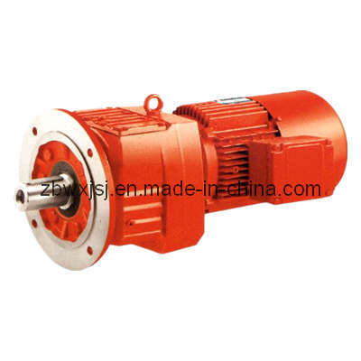 China Sew Equivalent Rf Series Helical Gear Motor China Gearbox Gear Motor