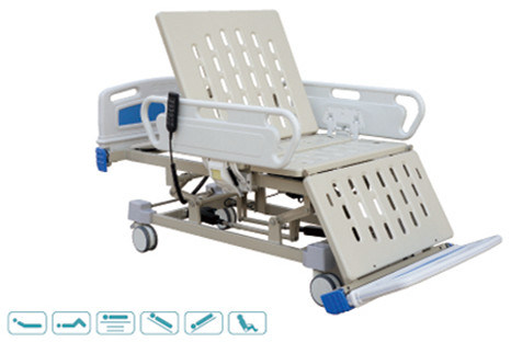 China Supplier Ce/ISO Electric Hospital Nursing Bed with Battery Back-up