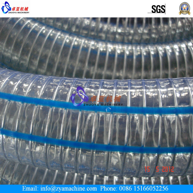 Soft PVC Steel Wire Spiral Reinforced Hose Extrusion Machinery/Production Line