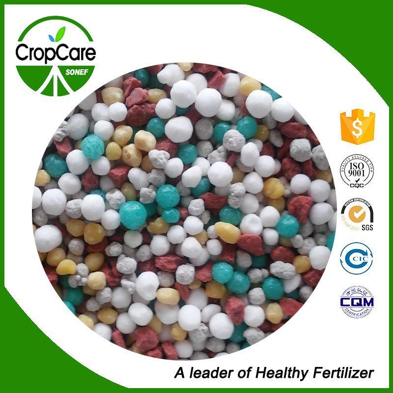 High Quality Granular Compound NPK Fertilizer 15-15-15 30-10-10