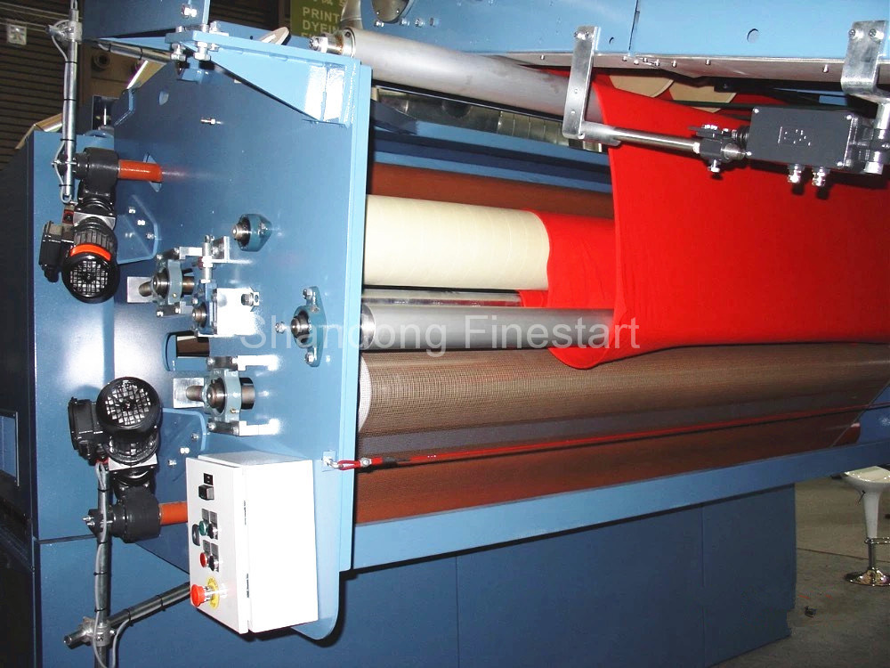 Textile Machine Knit Fabrics Six Chambers Relax Dryer Strainless Dryer