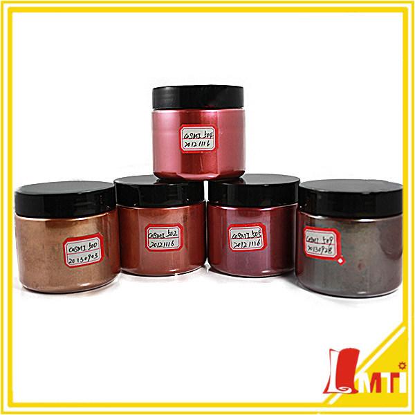 Inorganic Glitter Jujube Red Pearl Luster Pigment