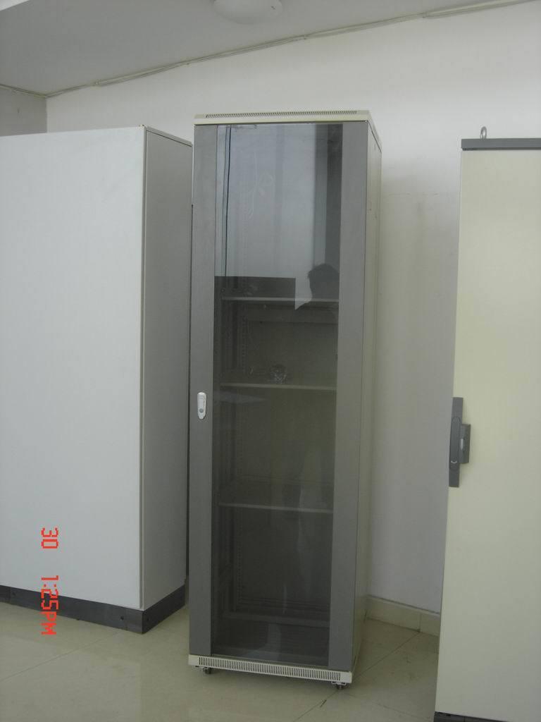 Network Cabinet with Transparent Door