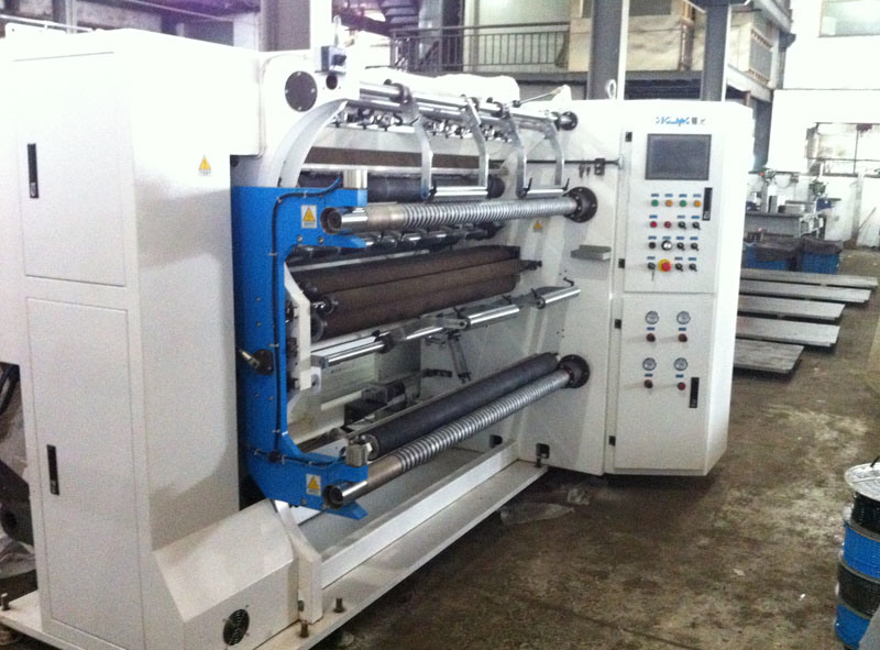 Automatic High Speed Plastic Film Slitting Machine