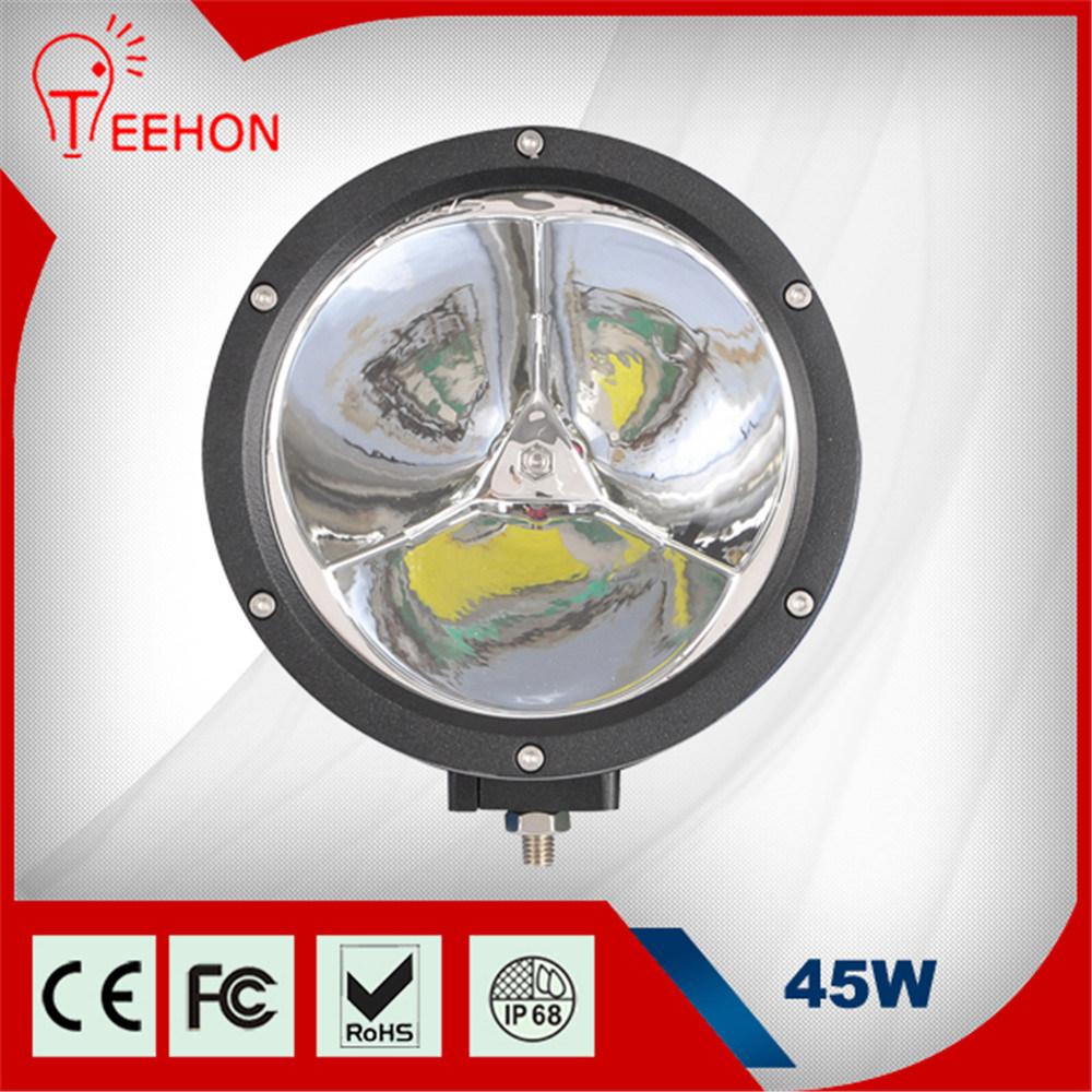 "45W Round 7"" 3200lm Auto LED Light"