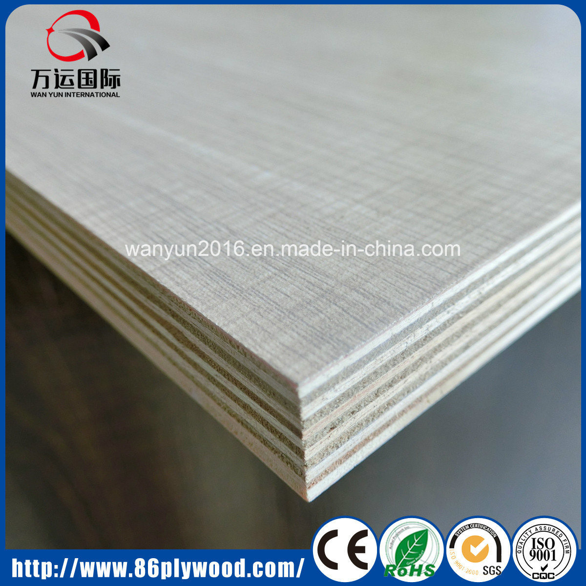 Building Material Pine/Birch/Bintangor/Poplar/Okoume Plywood