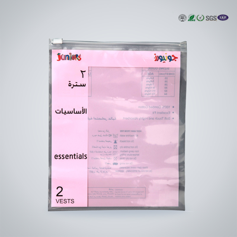 PE Transparent Medical Zip Lock Bag for Medicine