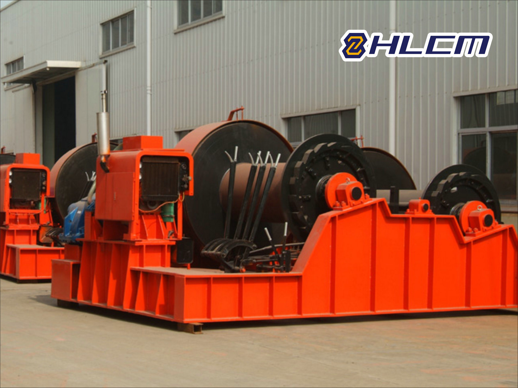 Electric Winch for Ship Launching and Construction (HLCM-27)