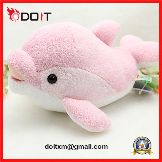 Pink Dolphin Plush Toy Plush Stuffed Baby Toy
