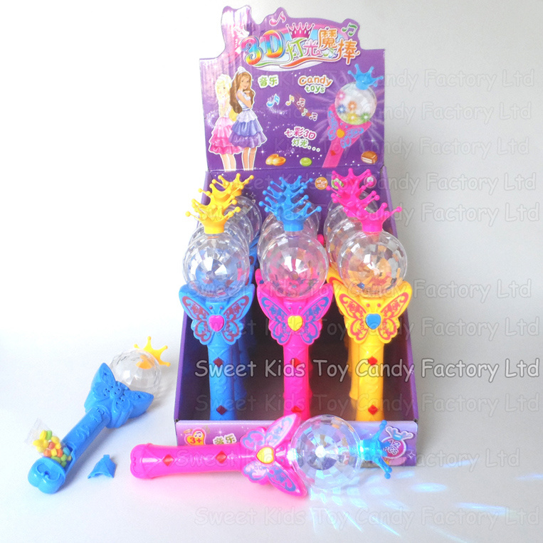 Flash Magic Wand Toy with Candy (131008)