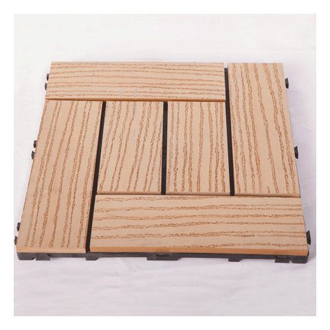 2017years/ Best Hot Sale DIY Decking Tiles with Wood Plastic Composite/ Outdoor Floor