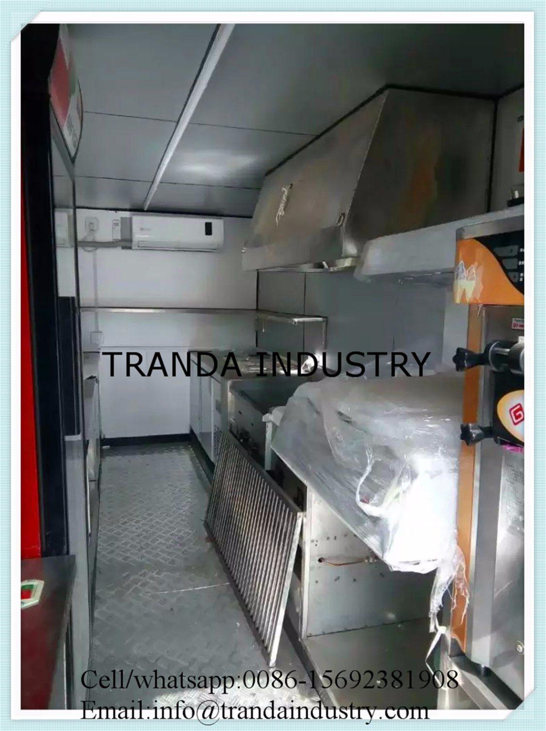 Hot Sale Large Mobile Food Trailer