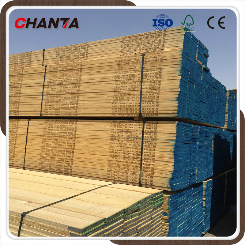 33mm 38mm Scaffboard Full Pine LVL for Middle East Market