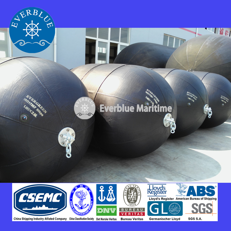 Pneumatic Marine Fender with High Energy&Reaction Capacity