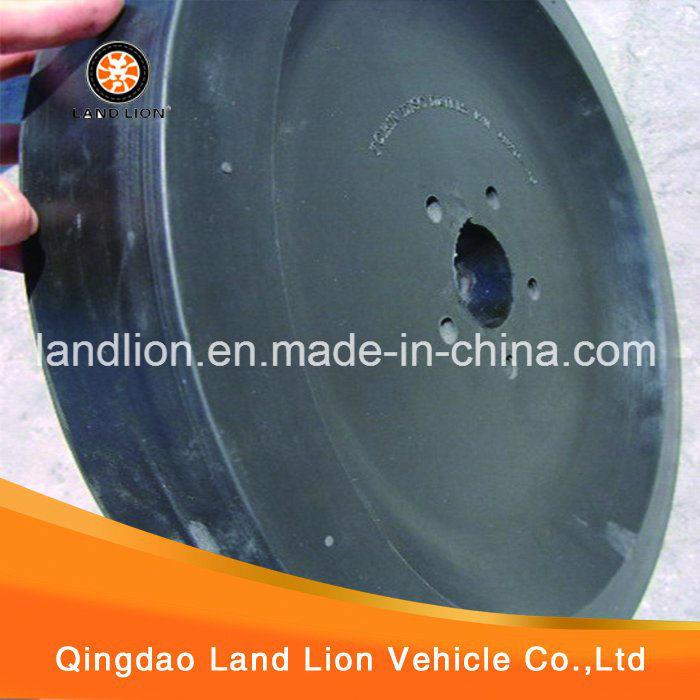 Solid Rubber Wheel for Plow/ Plow Rubber Wheel