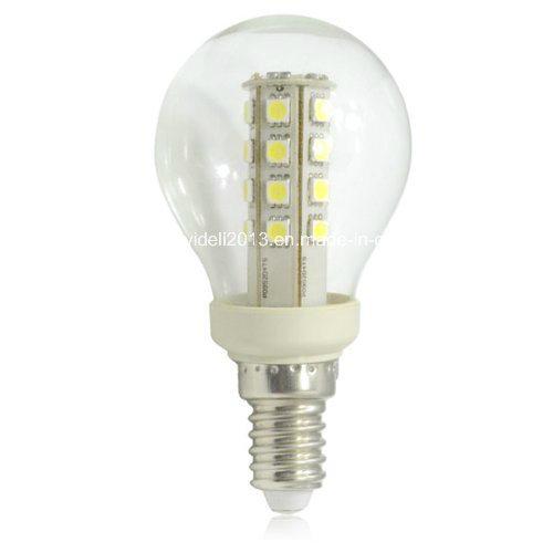 New 220V 110V 120V AC G50 27 5050 SMD LED Corn Candle Bulb Lamp