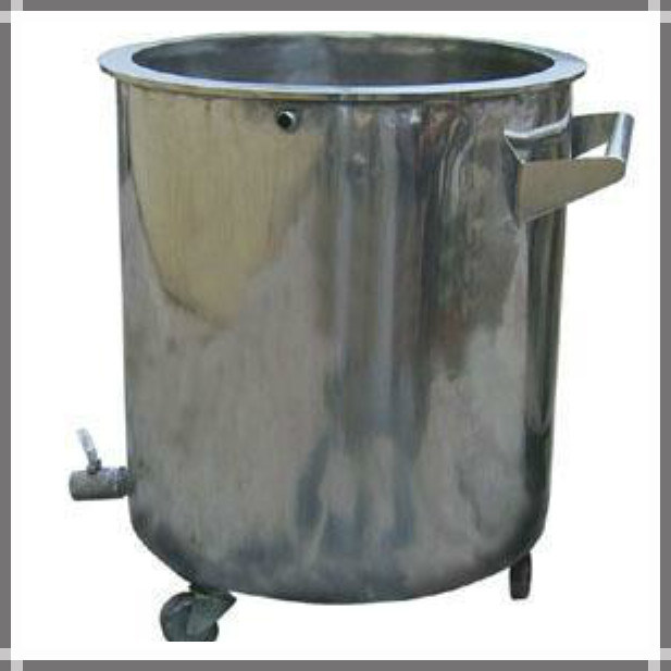 Movable Stainless Steel Storage Tank with Wheels
