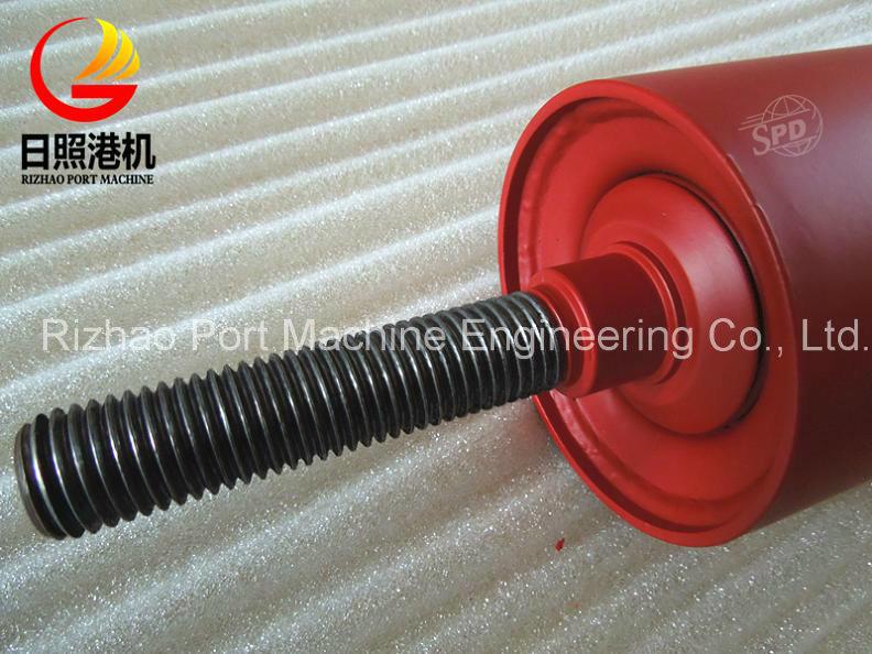 SPD High Performance Threaded Steel Roller, Steel Conveyor Roller