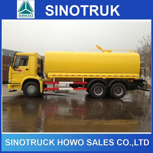HOWO 10 Wheeler 20000liter Fuel Tanker Truck for Sale
