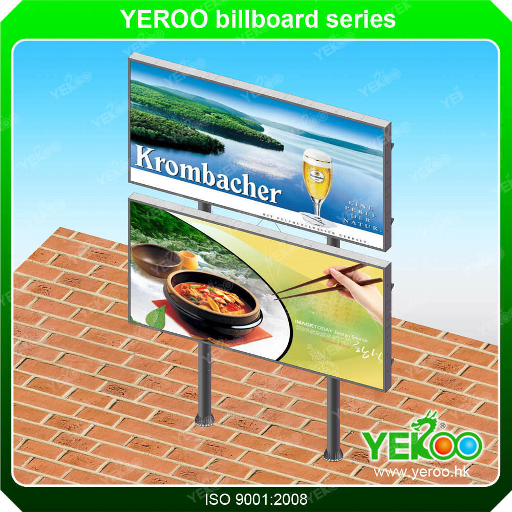 City Billboard-Modern Signs-Aluminium Billboard-LED Billboard Display