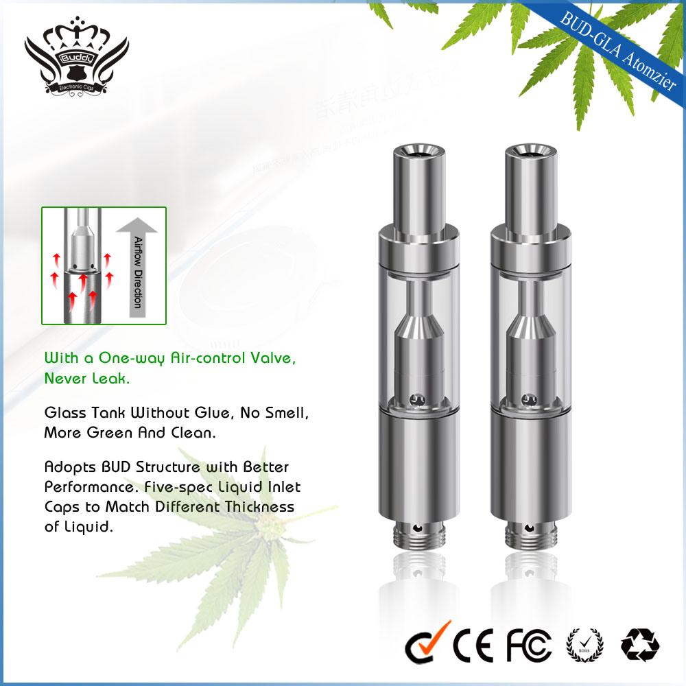 Free Sample Gla/Gla3 510 Glass Atomizer Cbd Vape Pen Vaporizer E-Cig