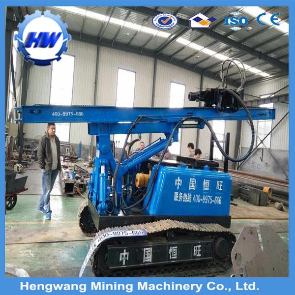6.5m Depth Crawler Type Vibratory Hammer Pressure Pile Hammer